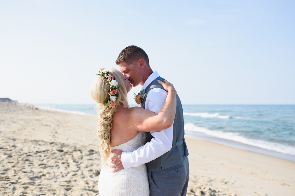 Real Life I Do OBX Weddings | Lori & Brandon
