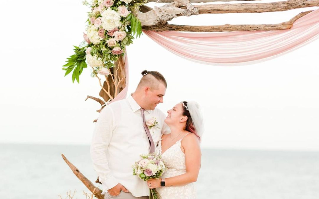 Yvonne and Donald's Outer Banks Vow Renewal